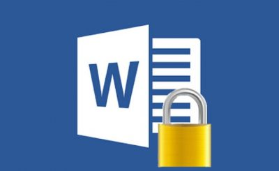 Protect Ms. Word, Ms. Excel, Ms. Power point Files