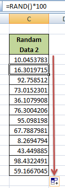 How to Generate Random Spreadsheet Data in Microsoft Excel
