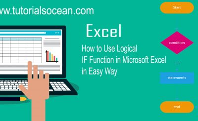 How to use if function in excel
